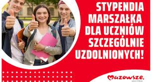 """""""Mazowiecki program stypendialny dla uczniów szczególnie uzdolnionych – najlepsza inwestycja w człowieka"""""""